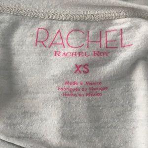 "RACHEL Rachel Roy Tops - ""Better than ever"" white graphic T-shirt"
